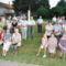 Az ünnepi szentmise résztvevőinek egy csoportja