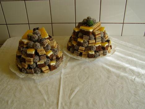 Sütemények vegyesen-Fanta szelet (sárga tetejü)