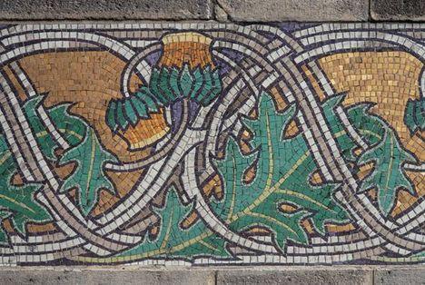 Gresham-palota --mozaik