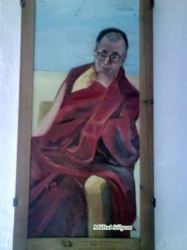 festmény DALAI lÁMA