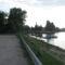 Győr, a Rába torkolata