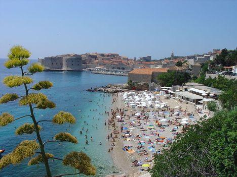 Dalmácia 6 Dubrovnik Excelsior strand