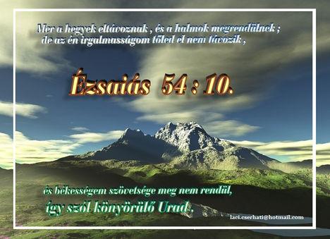 Ézsaiás  54-10.