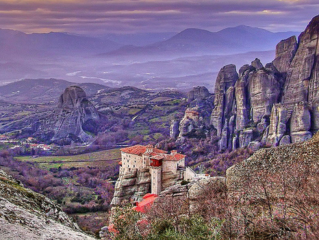 Meteora Valley, Greece (by _neona_)