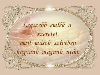 szeretet és ismerős)