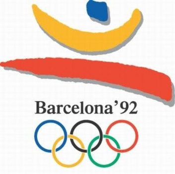 Barcelona, olimpia, logo