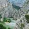 Cetina és a hegyek Omis-nál 10