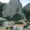 Cetina és a hegyek Omis-nál 5