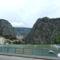 Cetina és a hegyek Omis-nál 6