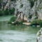 Cetina és a hegyek Omis-nál 9