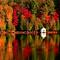 őszi tópart