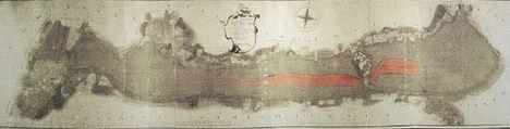 Balaton térképe.