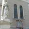 A templomdombi Krisztus szobor egyik alakja