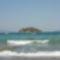 Koronisz-sziget a parttal szemben
