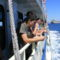 hajóval a tengeren