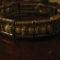 66. tibeti ezüstözött köztesek és macskaszem gyöngy karkötő