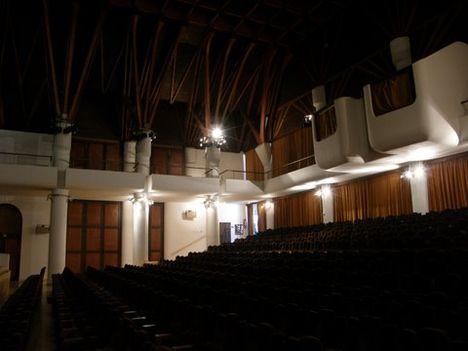 Sárospatak, Művelődés háza színházterem nézőtér