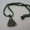 Peyote háromszög, zöld-arany