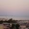 Cattolica, kilátás a tengerre a szobánkból 2.