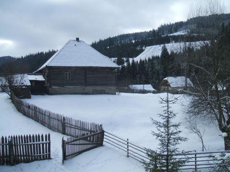 Erdélyi havas lankák