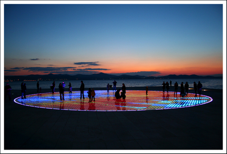 Greeting to the Sun, Zadar (Croatia) (by felber)