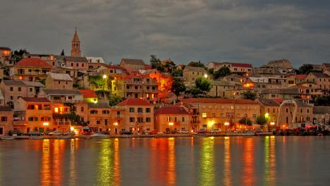 Povlja, Croatia - After dusk (by mrgarris0n)