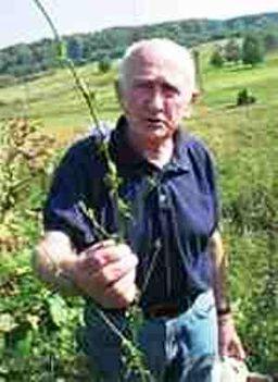 Szabó Gyuri-bacsi a füves ember