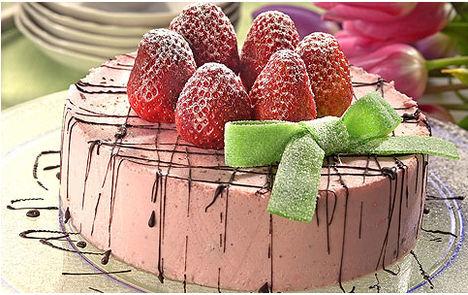 Epres joghurtos torta