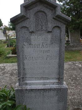 régi sír az 1880-as évekből