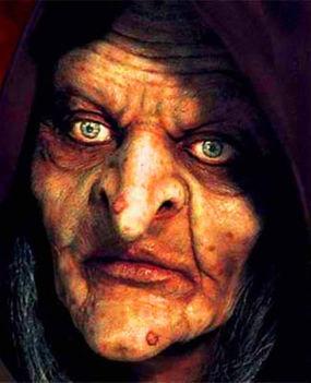 A boszorkány arca