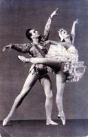 Havas Ferenc - A hattyúk tava Siegfried hercegeként Odette- Lakatos Gabriella