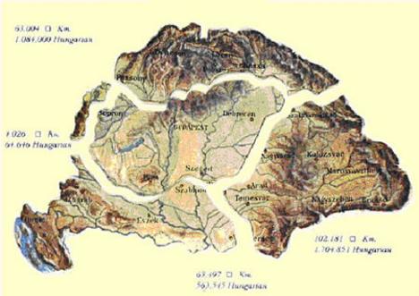 TRIANON előtt és most: térkép