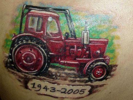 Tetkó: traktor