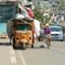 Vietnam:  motoros tricikli - fő, hogy megy