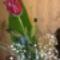 Egy rózsa szál szebben beszél...