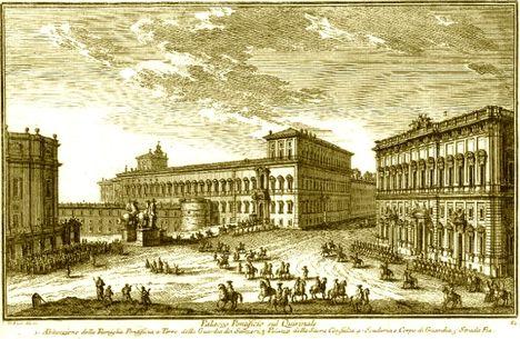 Palazzo Pontificio sul Quirinale