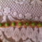 karkötő zöld gyönggyel