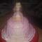 Barbi torta előrről nézve