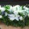 hosszú temetési sírcsokor
