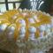 Oroszkrém torta oldalrról nézve