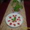 Tejfölös zöldséges saláta