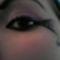 Pókos lilás smink