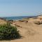 Sivatagos táj az Agios Georgios-i partoknál, Korfu