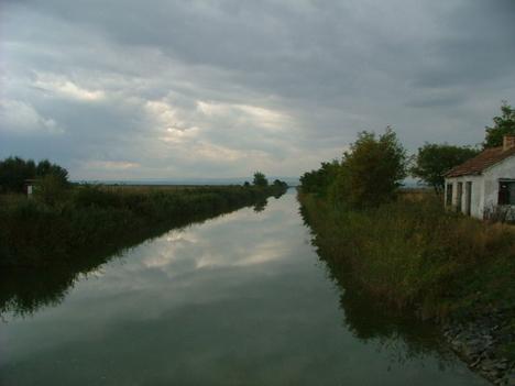 A Hanság csatorna