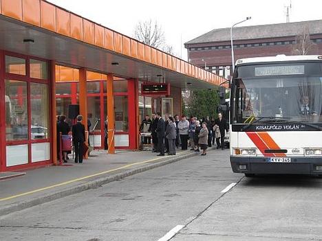 Csornai buszpályaudvar