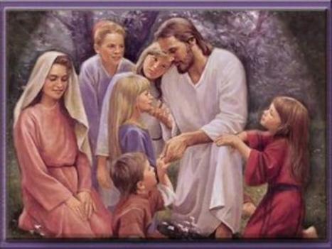 Jézus a gyermekekkel