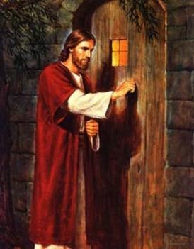 Jézus az ajtó előtt áll és kopogtat
