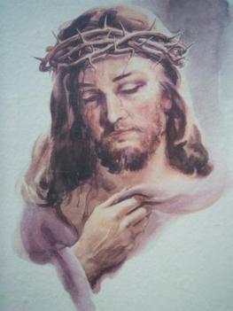 Jézus koronával