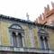 Verona, festett homlokzat