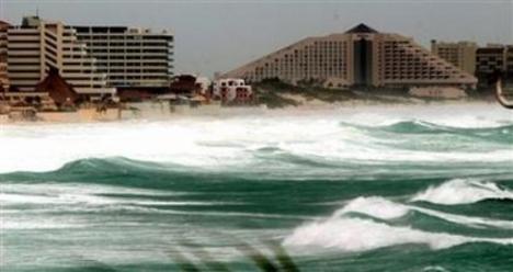 Vilma hurrikán, Quintana Roo, Mexico, 2005.10.21